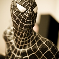 SPIDER-MAN COSTUME NOIR - Figurine Kotobukiya
