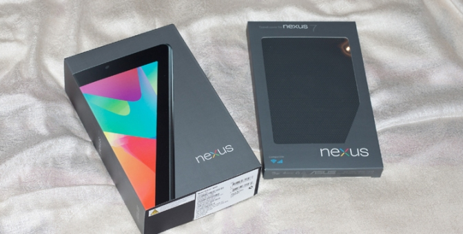 [Arrivage] Tablette Asus Nexus LED 32 Go