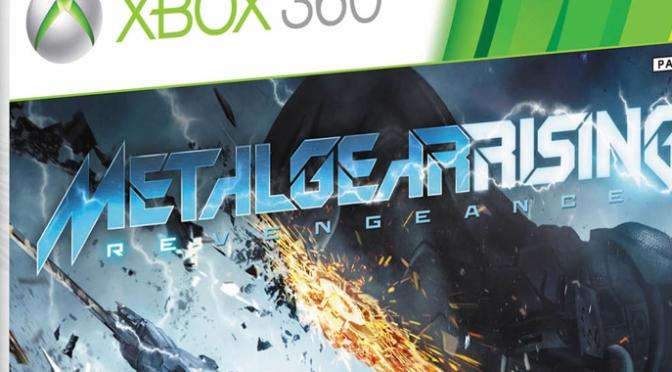 [Arrivage] Metal Gear Rising : Revengeance sur Xbox 360