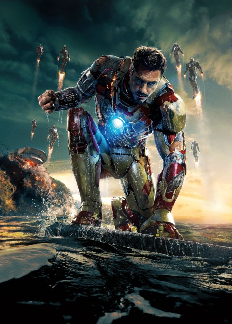 Iron Man 3 Poster UHQ