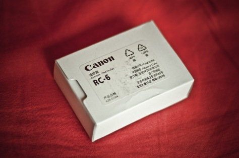Télécommande Canon 01