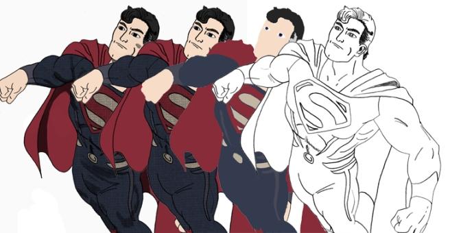 Quelques dessins de super-héros