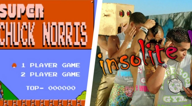 La Minute Insolite / Chuck Norris dans Super Mario Bros.