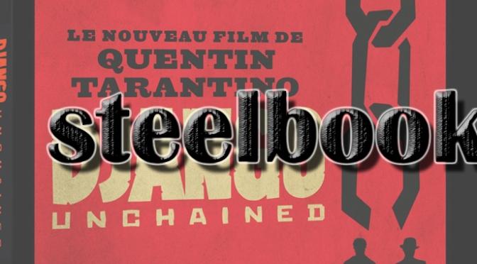 Pré-commande Django Unchained Blu-ray Steelbook limité Amazon