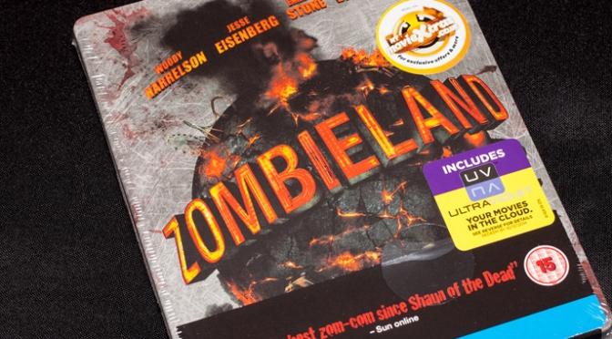 [Arrivage] Zombieland en Blu-ray Steelbook