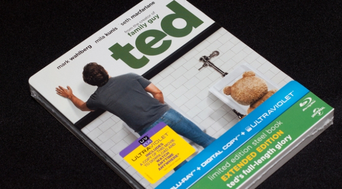 [Arrivage] Ted en Blu-ray Steelbook