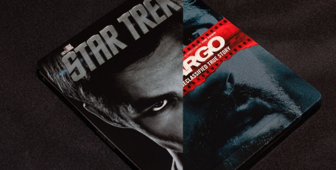 [Arrivage] Star Trek & Argo en Blu-ray Steelbook