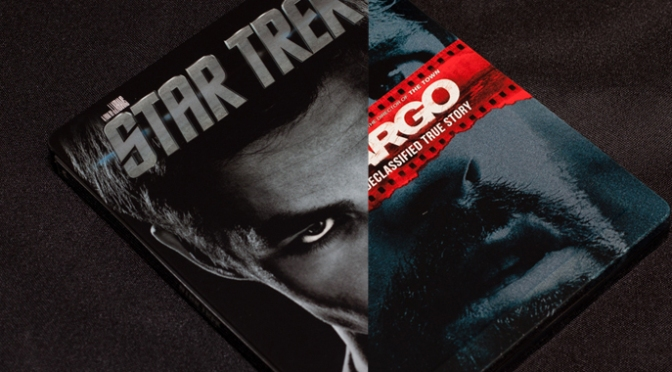 [Arrivage] Star Trek & Argo en Blu-ray Steelbook