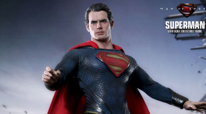 [Pré-commande] Man of Steel Movie Masterpiece 1/6 de Hot Toys