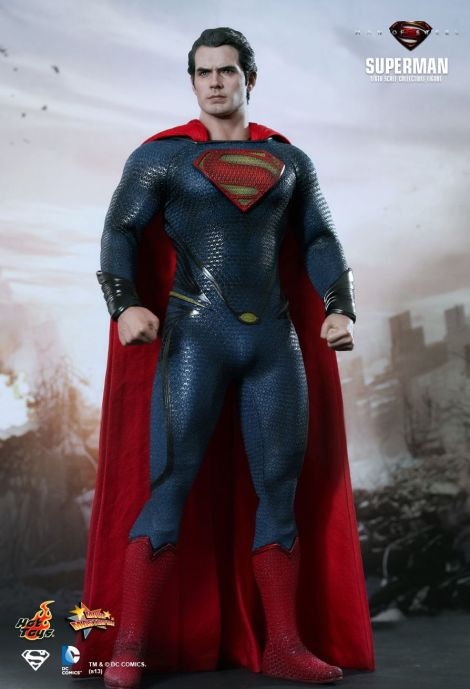 Man of Steel Hot Toys 01
