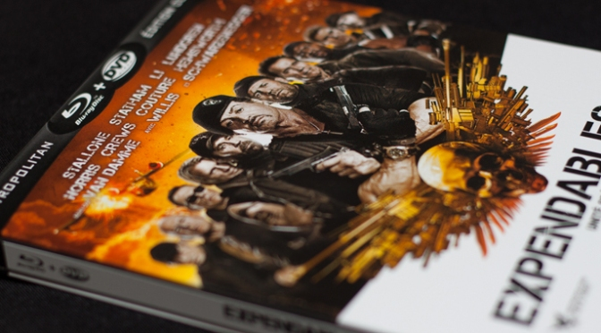 [Arrivage] Expendables 2 en Blu-ray Steelbook