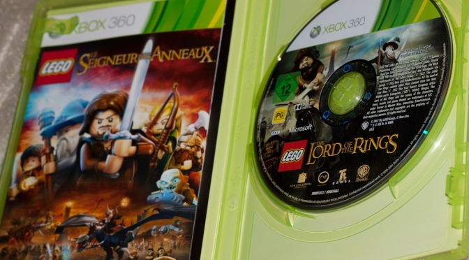 [Achat] LEGO Le Seigneur des Anneaux sur XBOX 360