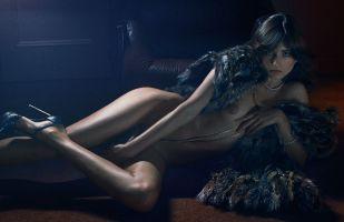 Andreea Diaconu par Fabien Baron