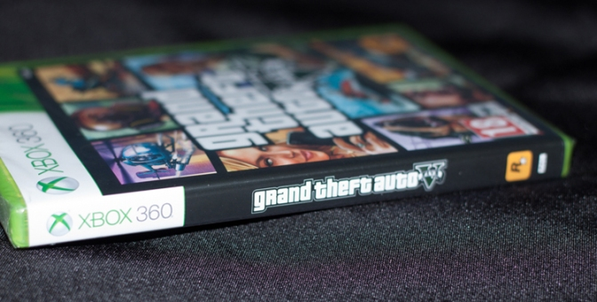 [Arrivage] Grand Theft Auto V sur Xbox 360