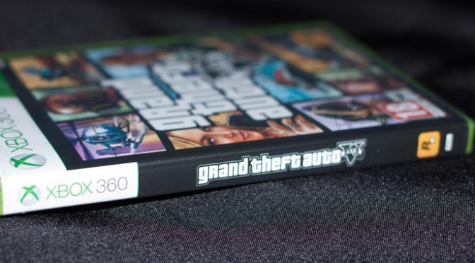 [Arrivage] Grand Theft Auto V sur Xbox 360