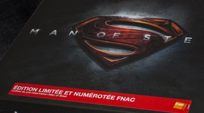 [Arrivage] Man of Steel – Coffret Limité FNAC