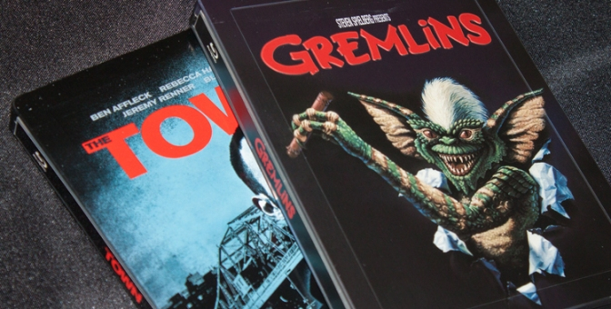 [Arrivage] The Town et Gremlins en Blu-ray Steelbook