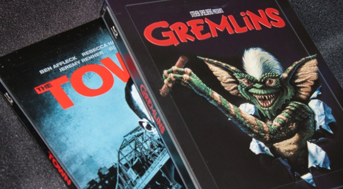 [Arrivage] The Town et Gremlins en Blu-ray Steelbook