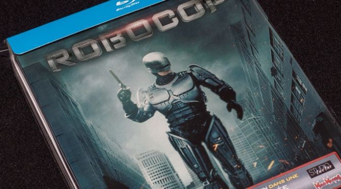 [Arrivage] Robocop (1987) en Blu-ray Steelbook