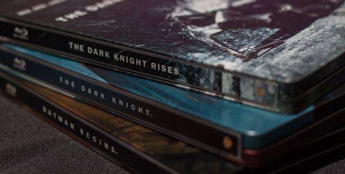 [Arrivage] Trilogie The Dark Knight en Blu-ray Steelbook