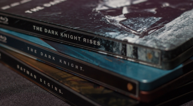 [Arrivage] Trilogie The Dark Knight en Blu-ray Steelbook
