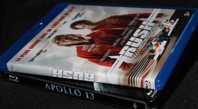[Arrivage] Apollo 13 et Rush en Blu-ray