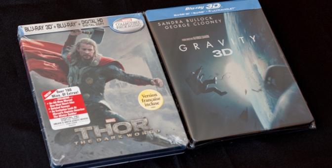 Nouveaux steelbooks - Thor et Gravity (1)