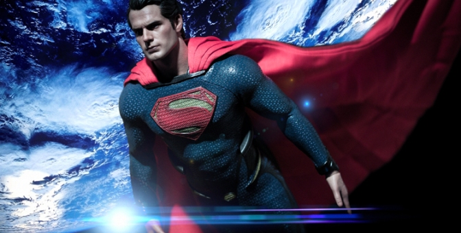 [Arrivage] HOT TOYS – Superman – Man of Steel MMS 200 – Échelle 1/6