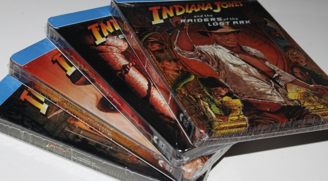 [Arrivage] Indiana Jones : la saga en steelbooks