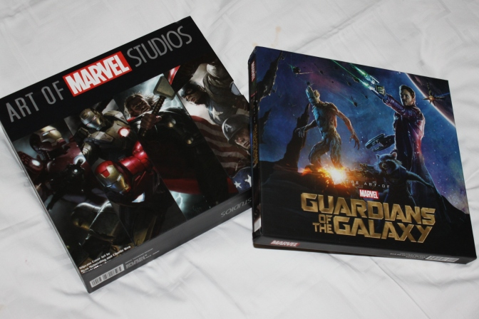 The Art of Marvel Studios and Guardians of the Galaxy