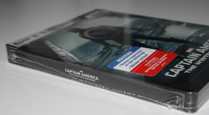 [Arrivage] Captain America : Le Soldat de l'Hiver en Steelbook