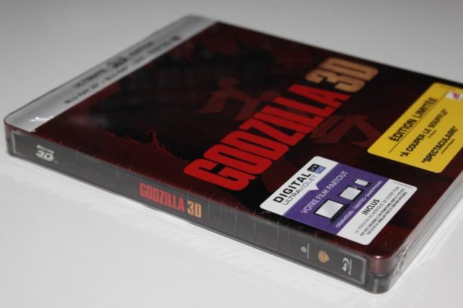 [Arrivage] Godzilla de Gareth Edwards en Steelbook