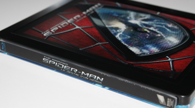 [Arrivage] The Amazing Spider-Man 2 en Steelbook