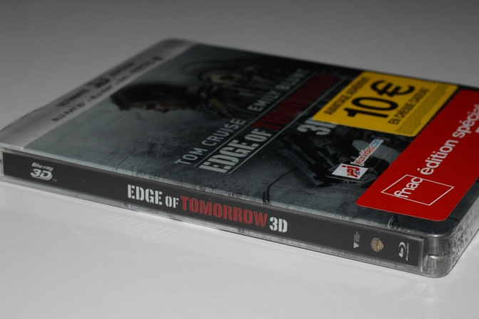 [Arrivage] Edge of Tomorrow en Steelbook