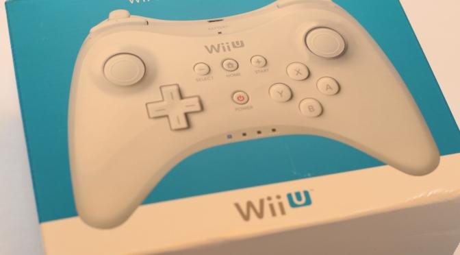 [Achat] Manette Pro Wii U Blanche