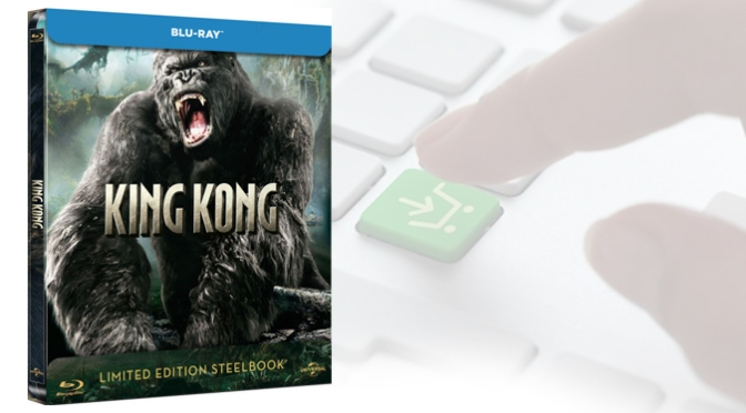[Achat] King Kong en Blu-ray Steelbook