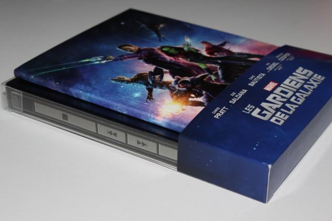 [Vieil Arrivage] Les Gardiens de la Galaxie en Blu-ray Steelbook