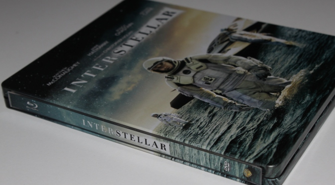 [Arrivage] Interstellar en Blu-ray Steelbook