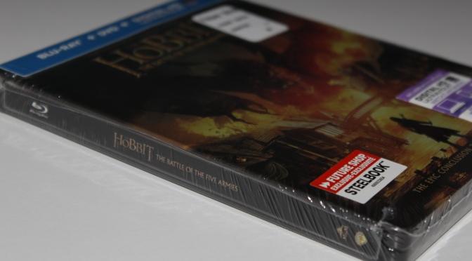 [Arrivage] Le Hobbit : La Bataille des Cinq Armées en Blu-ray Steelbook