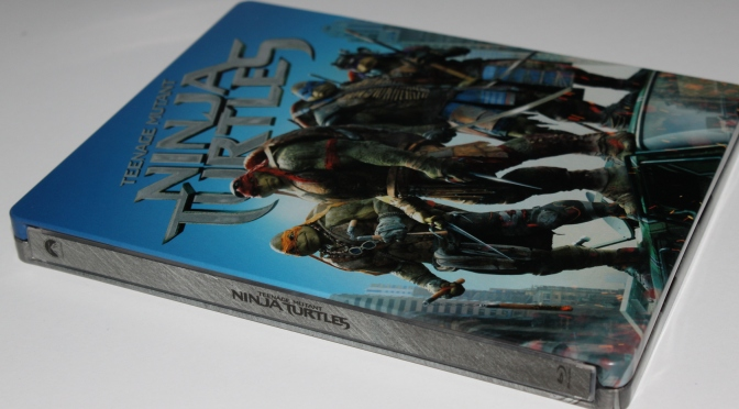 [Vieil Arrivage] Ninja Turtles en Blu-ray Steelbook
