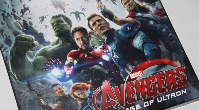 [Arrivage] The Art of Avengers Age of Ultron