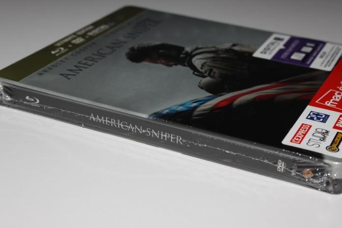 [Arrivage] American Sniper en Blu-ray Steelbook