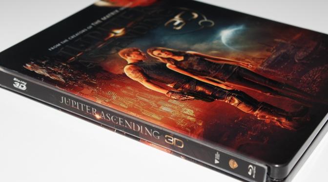 [Arrivage] Jupiter Ascending en Blu-ray Steelbook