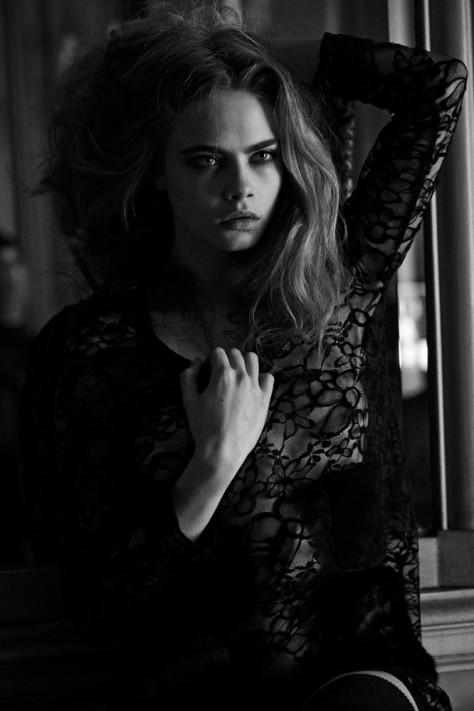 Cara Delevingne par Peter Lindbergh pour Interview Magazine (5)