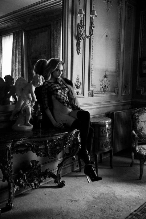 Cara Delevingne par Peter Lindbergh pour Interview Magazine (6)