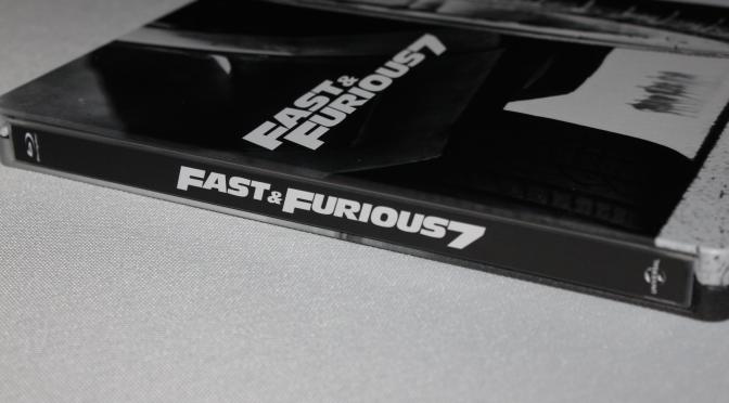 [Arrivage] Fast & Furious 7 en Blu-ray Steelbook