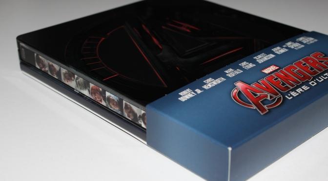 [Arrivage] Avengers L'Ere d'Ultron en Blu-ray Steelbook