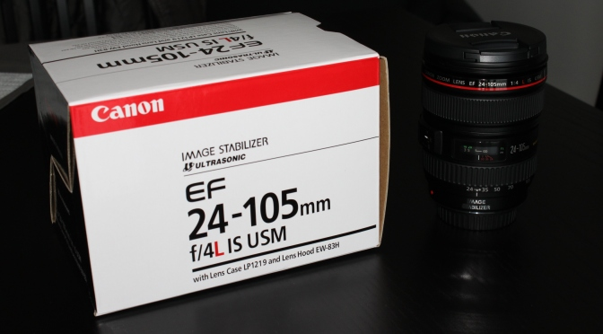 [GROS Achat] Objectif Canon EF IS USM 24 – 105 mm f/4.0 série L